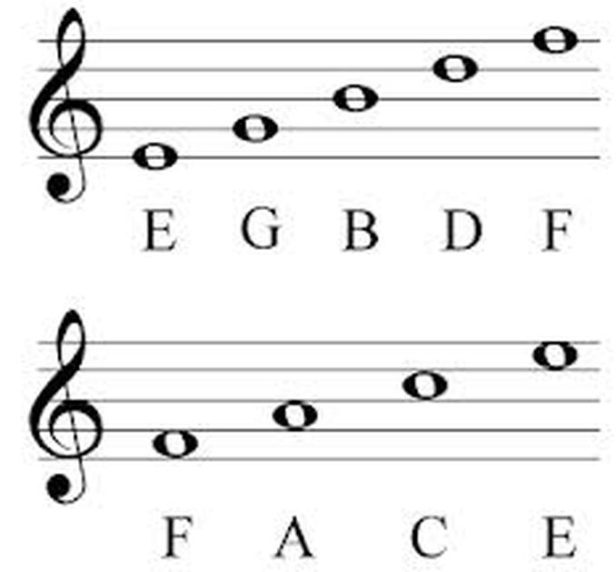 Need help remembering music notes ?